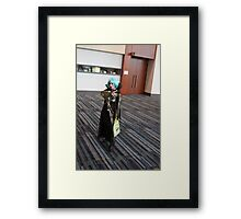 The Spider Queen Framed Print