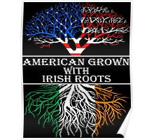 American Grown With Irish Roots Poster