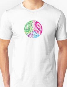 Paisley Peace White T-Shirt
