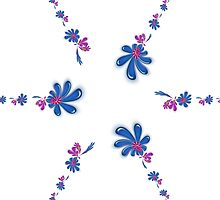 Floral Pattern by Dipali S