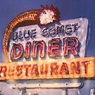 Blue Comet Diner by Steven Godfrey