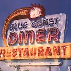 Blue Comet Diner by Steven Godfrey