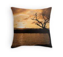 The Magical Murray River Throw Pillow