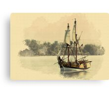 Lady Washington Canvas Print