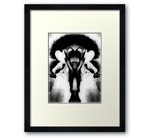 Photography, black and white Framed Print