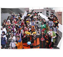 Naruto Cosplay Group Shot Poster