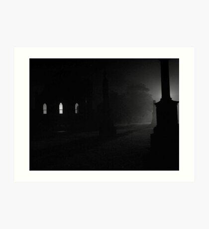 cemetery 03 Art Print