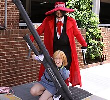 Hellsing cosplayers by Okeesworld