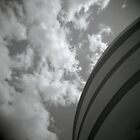 clouds and concrete by Justin Waldinger