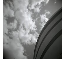 clouds and concrete Photographic Print