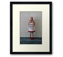 Cosplaying Framed Print