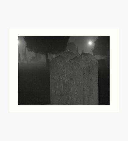 cemetery 07 Art Print