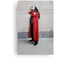 Don't Mess with Alucard Canvas Print