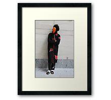 Tobi Relaxing Framed Print