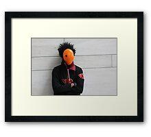 Tobi Close-up Framed Print
