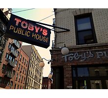 Toby's Public House Photographic Print
