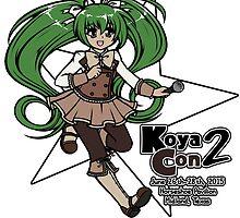 Koya-Con 2015 Online Exclusive Items by koya-con