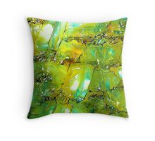 Emerald Forms Throw Pillow