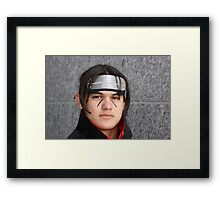 Check out the eyes! Framed Print
