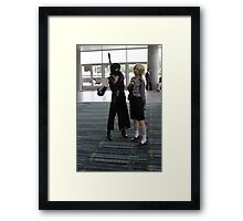 Two Cosplayers Framed Print