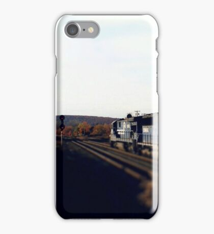 Railroad Locomotive Conrail  iPhone Case/Skin