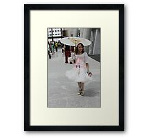 Beauty in the Hall Framed Print
