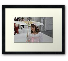 Beauty in the Hall Close-up Framed Print