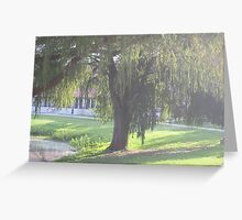 Woodlawn Lake & Park, San Antonio, Texas (City) Greeting Card