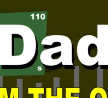 Baking dad Funny Geek Nerd Sticker