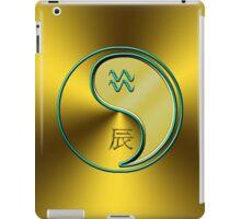 Aquarius & Dragon Yang Metal iPad Case/Skin