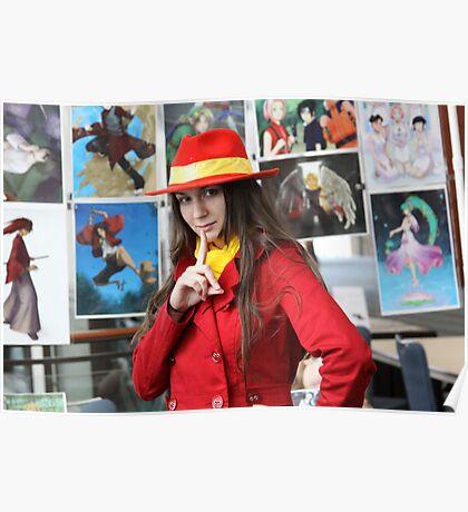 I found Carmen Sandiego Close-up Poster