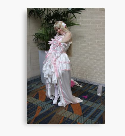 Chi from Chobits Canvas Print
