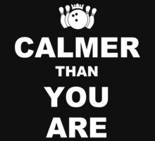 Calmer than you are Funny Geek Nerd by rahmathusni