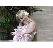 Chi from Chobits  Close-up Photographic Print
