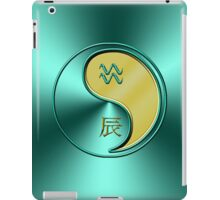 Aquarius & Dragon Yang Metal iPad Case/Skin