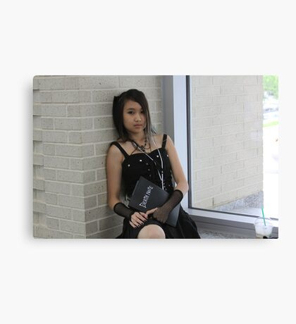 Misa from Death Note Close-up Canvas Print