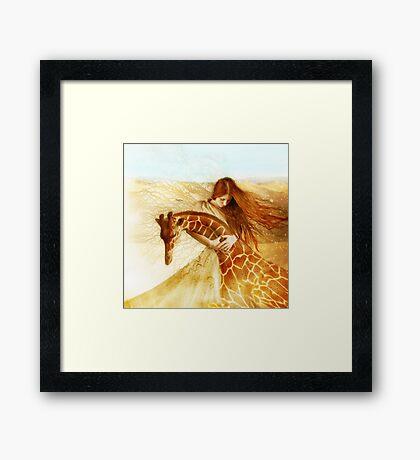 Adagio Framed Print
