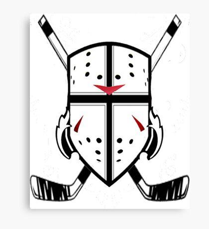 Hockey Crest  Canvas Print