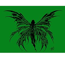 Tribal Fairy Green Photographic Print