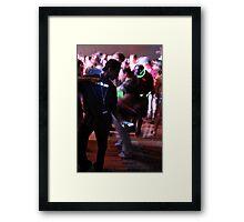 Crave the Rave  Motion Sickness Framed Print