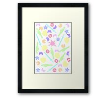 Pastel Gamer Framed Print
