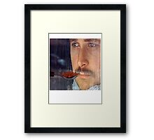 Ryan Gosling Won't Eat His Cereal Framed Print