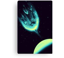 There Is No Planet to Save Canvas Print