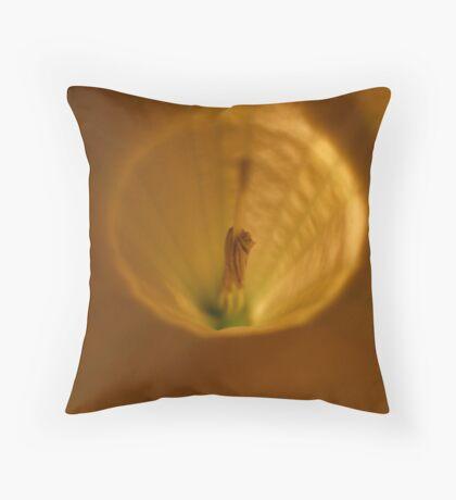 TRUMPET LIGHT III Throw Pillow