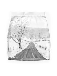 McGee Cove Road Mini Skirt