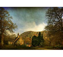 The Kirk by the Hill Photographic Print