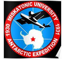 Miskatonic university antarctic expedition Funny Geek Nerd Poster