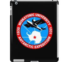 Miskatonic university antarctic expedition Funny Geek Nerd iPad Case/Skin