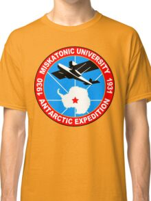 Miskatonic university antarctic expedition Funny Geek Nerd Classic T-Shirt