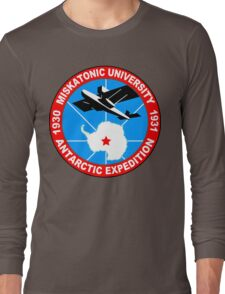 Miskatonic university antarctic expedition Funny Geek Nerd Long Sleeve T-Shirt
